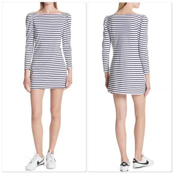 A.L.C. Dresses & Skirts - A.L.C. Midnight White Stevens Stripe Casual Dress